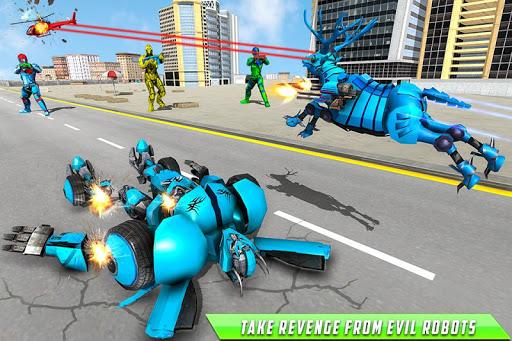 Deer Robot Car Game u2013 Robot Transforming Games 1.0.7 screenshots 5