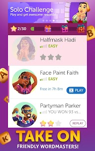 Words With Friends 2 MOD (Unlimited Money) 3