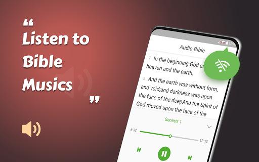 King James Bible (KJV) - Free Bible Verses + Audio android2mod screenshots 6