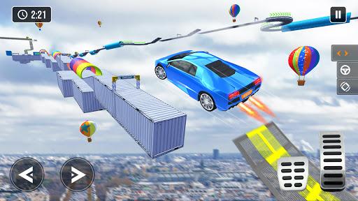 Mega Ramp Car Stunt Game 3d - New Car Games 2021 screenshots 2