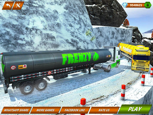 Offroad Oil Tanker Truck Transport Driver  Screenshots 12