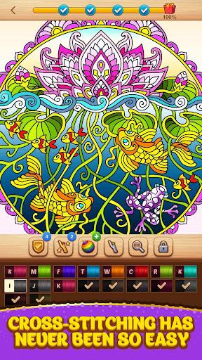 Cross Stitch Coloring Mandala 0.0.236 screenshots 7