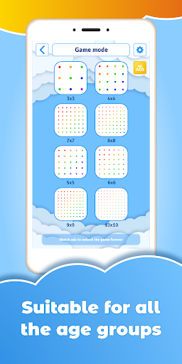 GeoBoard relaxing puzzle game drawing lines shapes  screenshots 2