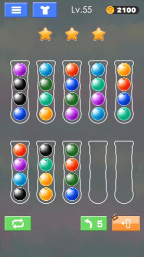 Sort Color Ball Puzzle - Sort Ball - Sort Color  screenshots 24