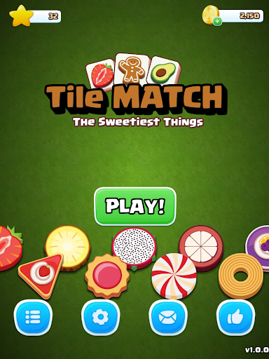 Tile Match Sweet - Classic Triple Matching Puzzle  screenshots 12