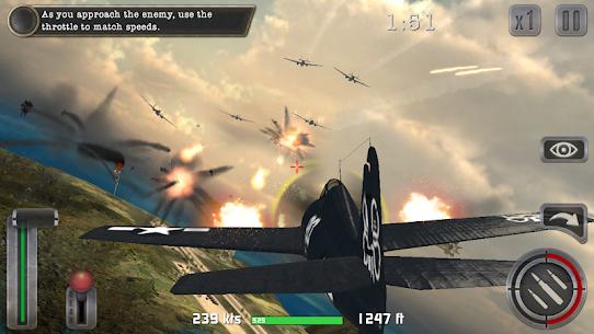 Air Combat Pilot: WW2 Pacific 1.12.007 MOD APK [UNLOCKED ALL WEAPONS] 4
