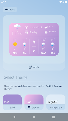 How is the Weather - Different, Simple & No Ads v17_24.01 Screenshots 7