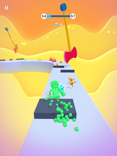 Pixel Rush - Epic Obstacle Course Game android2mod screenshots 15