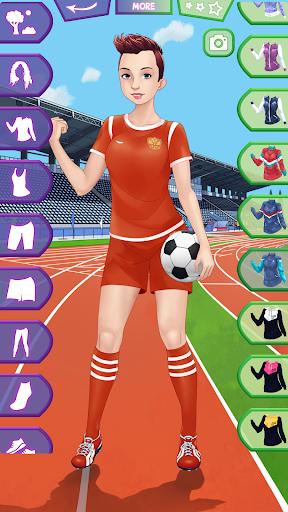 Fitness Girls Dress Up  screenshots 2