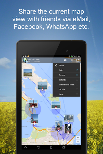 PhotoMap Gallery - Photos, Videos and Trips android2mod screenshots 11