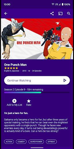 AnimeLab - Watch Anime Free 2.7.1 Screenshots 4