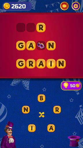 ud83cudfaaCircus Words: Free Word Spelling Puzzle  screenshots 4