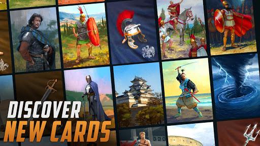 Heroes Empire: TCG - Card Adventure Game. Free CCG  screenshots 1