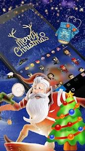 Animated Christmas Keyboard Theme 2