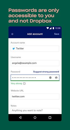 Dropbox Passwords - Secure Password Manager screenshots 6