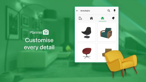 House Design & Interior room sketchup - Planner 5D apktram screenshots 11