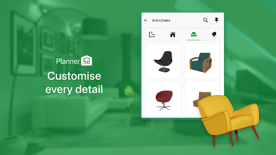 Planner 5D MOD APK Download v1.26.18 [Unlocked All Items] 2021 4