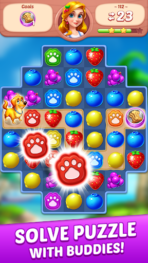 Fruit Genies - Match 3 Puzzle Games Offline screenshots 12