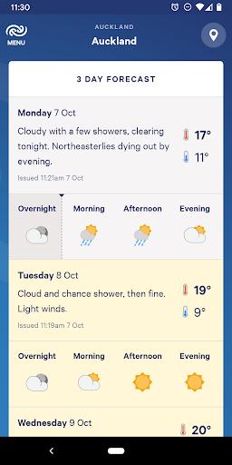 MetService NZ Weather screenshots 2
