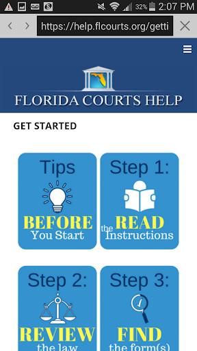 Florida Courts Help  screenshots 2