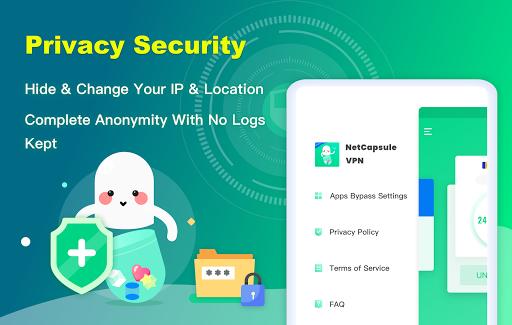 NetCapsule VPN | Free VPN Proxy, Fast VPN, Unblock 1.1.300 Screenshots 10