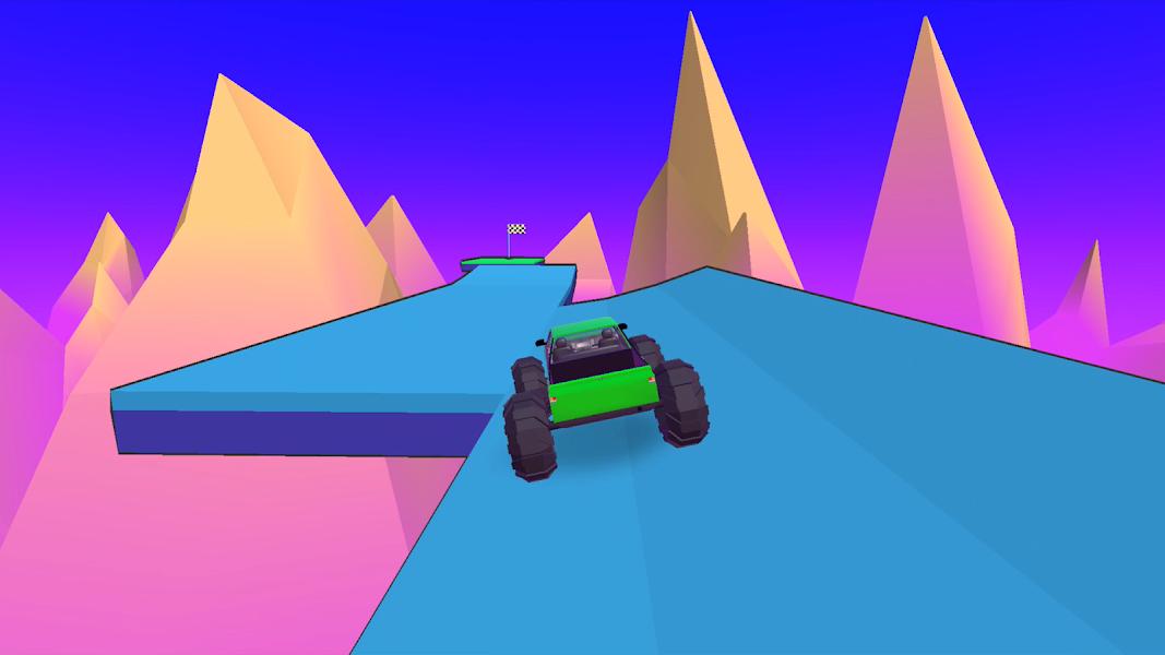 Stunt Wheels Impossible Krazy wheel Happy game 3