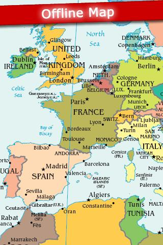 World Map 2021 FREE 4.9 Screenshots 1
