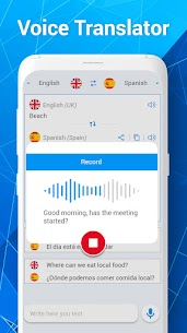 Talkao Translate – Voice Translator & Dictionary 1