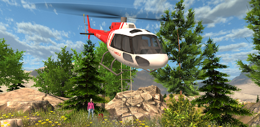 Screenshot of Helicopter Rescue Simulator