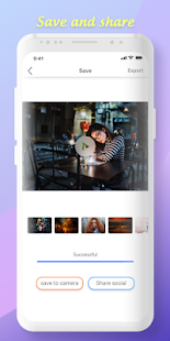 Romantic effects, photo video maker with music