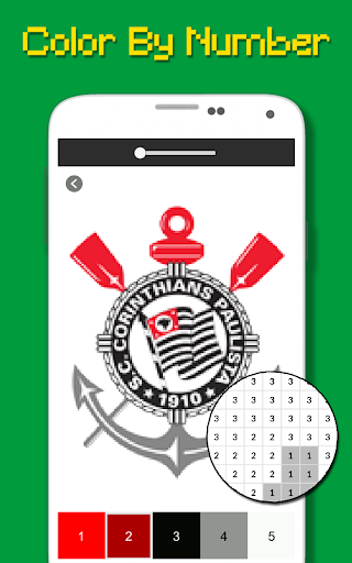 Logotipo Do Futebol Brasileiro Cor Por Nu00famero 9.0 screenshots 3