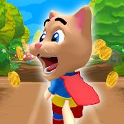 Cat Hero Run - Cat Runner Game
