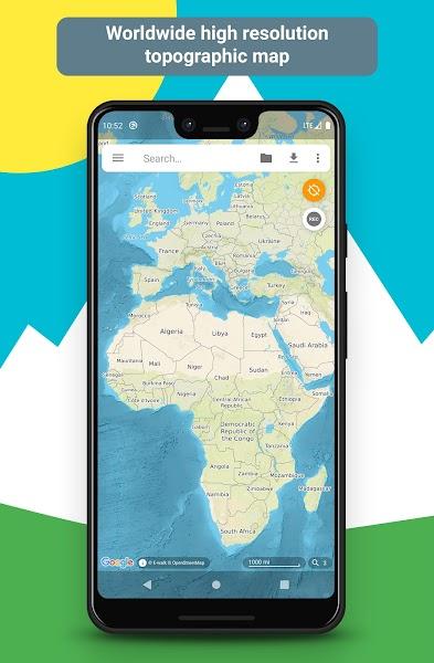 E-walk hiking & trekking offline GPS