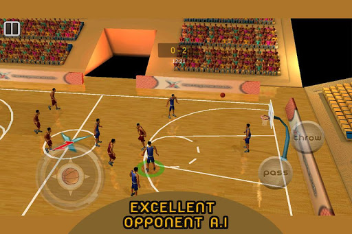 Real 3d Basketball : Full Game 1.8 screenshots 12