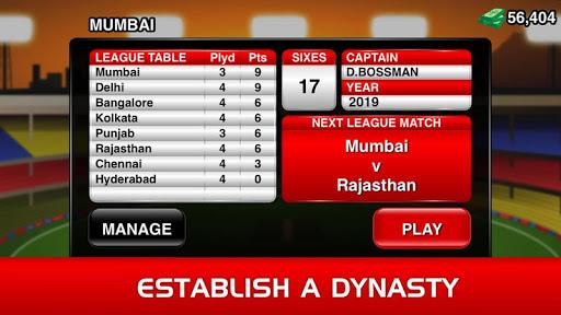 Code Triche Stick Cricket Premier League apk mod screenshots 4