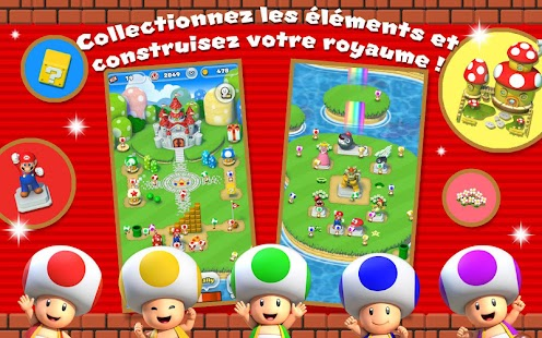 Super Mario Run Capture d'écran