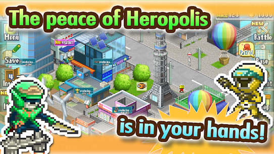 Legends of Heropolis Mod Apk 2.1.8 (Unlimited Money) 4