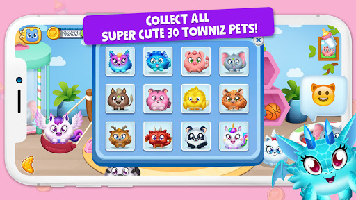 Towniz - Raise Your Cute Pet screenshots 5