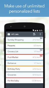 MyGrocery Shopping List Premium v1.3.6 MOD APK 4