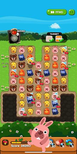 LINE PokoPoko - Play with POKOTA! Free puzzler!  screenshots 6