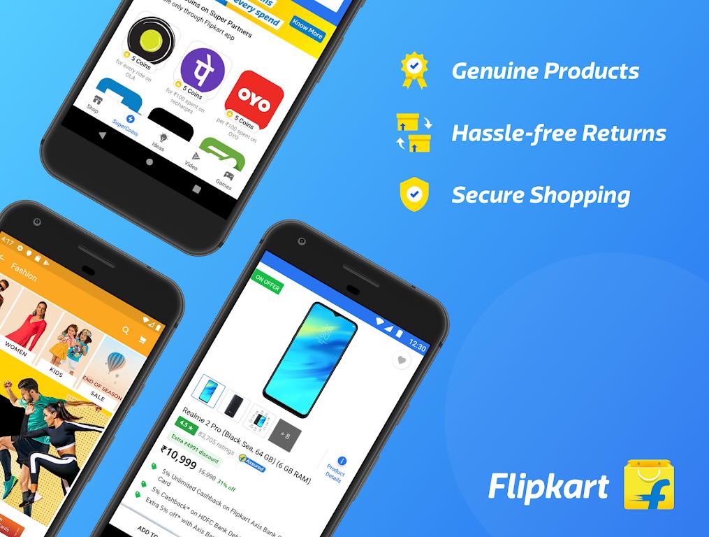Flipkart Online Shopping App poster 0