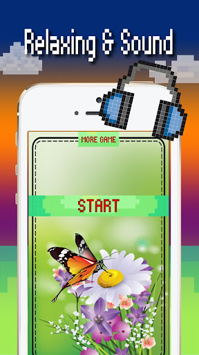 Butterfly color by number : Bugs coloring book 1.4 screenshots 1
