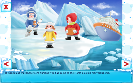 Polar Bear Cub - Fairy Tale with Games Free  screenshots 19