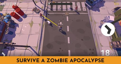 Code Triche Zombie Survival Battle: Apocalypse Tsunami (Astuce) APK MOD screenshots 1
