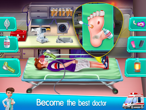 Ambulance Doctor Hospital - Rescue Game  screenshots 19