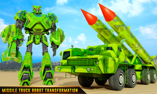 US Army Robot Missile Attack: Truck Robot Games 23 Screenshots 1