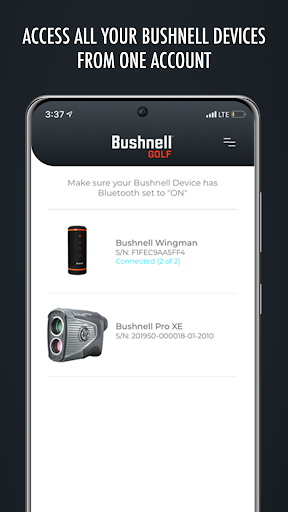 bushnell golf legacy products screenshot 1