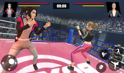 Women Wrestling Ring Battle: Ultimate action pack apkslow screenshots 14