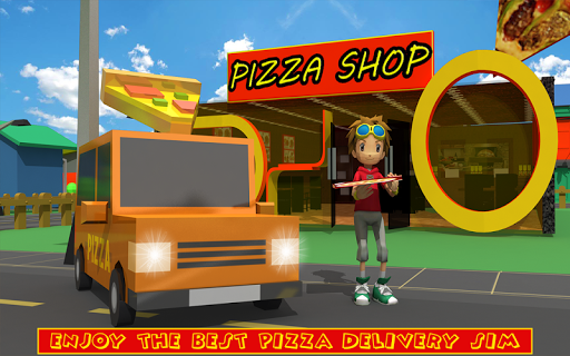 Blocky Pizza Delivery screenshots 10