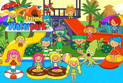 My Pretend Waterpark - Kids Summer Splash Pad apkpoly screenshots 3